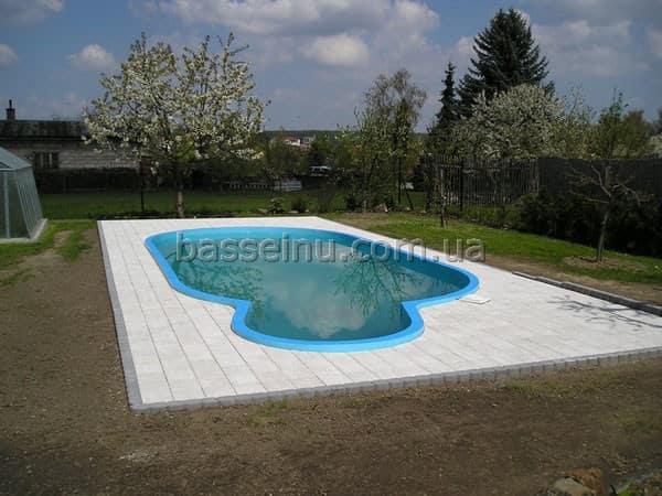 Полипропиленовый бассейн - цена от производителя.