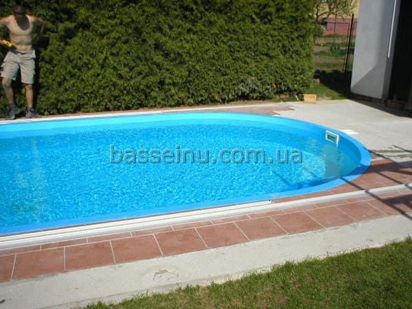Полипропиленовый бассейн цена Киев, Украина.