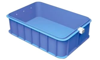 Полипропиленовый бассейн 3x6x1,5 фотография.