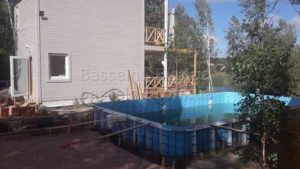 Строительство, установка, монтаж бассейнаполипропиленового фотография № 9.