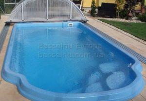 Керамо-композитный бассейн 17