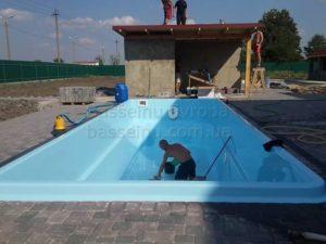 Керамо-композитный бассейн 10