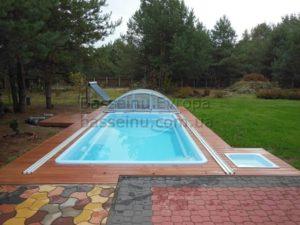 Керамо-композитный бассейн 2