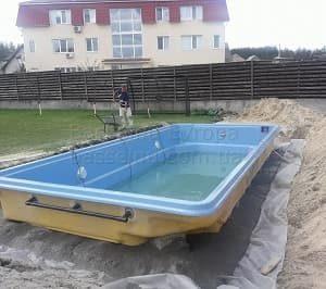 Строительство бассейнов Запорожье 1