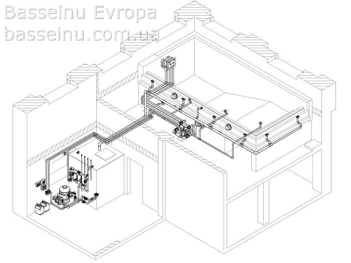 Проектирование бассейнов - Киев, Украина 3