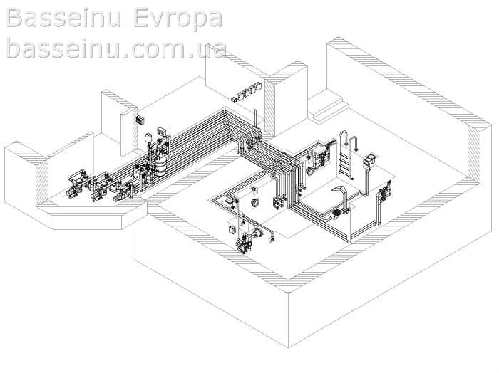 Проектирование бассейнов - Киев, Украина 4
