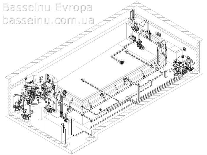 Проектирование бассейнов - Киев, Украина 6
