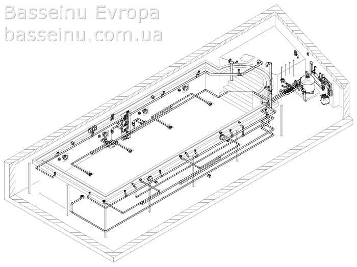 Проектирование бассейнов - Киев, Украина 9