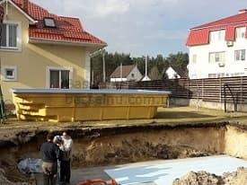 Строительство бассейнов Чернигов начало 1