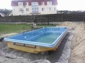 Строительство бассейнов Чернигов начало 2