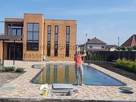 Строительство бассейнов Чернигов начало 8