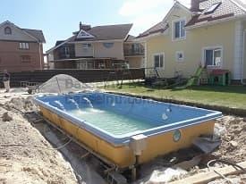 Строительство бассейнов Одесса начало 3