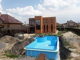 Строительство бассейнов Одесса начало 5