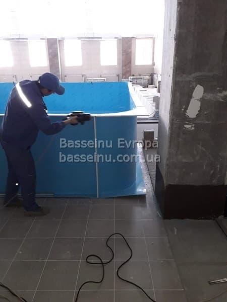 Строительство бассейнов Одесса - цена. фото 16.