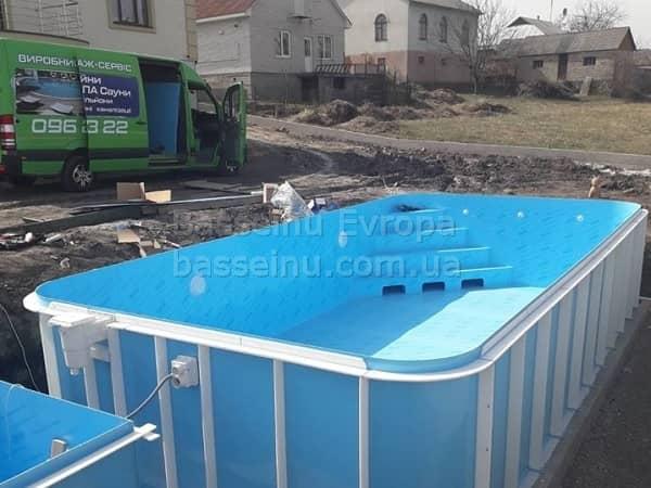 Будівництво басейнів Вінниця ціна - 3