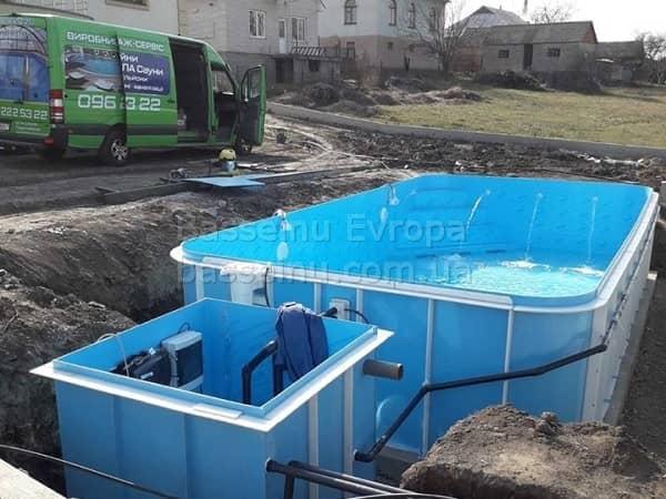 Будівництво басейнів Вінниця ціна - 6
