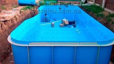 Купити басейн пластиковий з вигином приклад 1 - 3