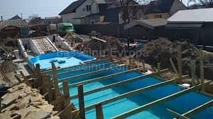 Будівництво басейнів Київ, Україна - початок 4
