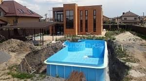 Будівництво басейнів Київ, Україна - початок 7