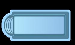 Стекловолоконный бассейн БСВЦ 3