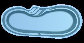 Стекловолоконный бассейн БСВЦ 4