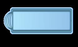 Стекловолоконный бассейн БСВЦ 9