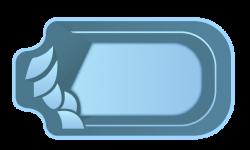 Стекловолоконный бассейн БСВЦ 14
