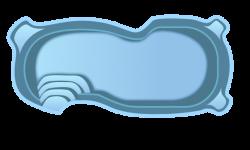 Стекловолоконный бассейн БСВЦ 7