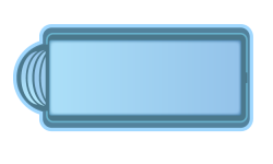 Стекловолоконный бассейн БСВЦ 10