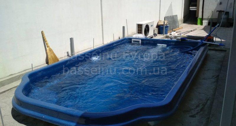 Керамо-композитный бассейн 6