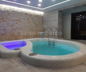 Купель для бани: из полипропилена, бетона в Украине 19