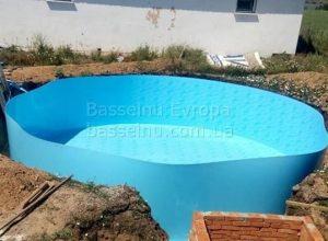Купити басейн пластиковий будь-якої форми приклад 3 - 1