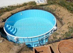 Купити басейн пластиковий будь-якої форми приклад 3 - 2