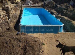 Купити басейн пластиковий будь-якої форми приклад 6 - 4