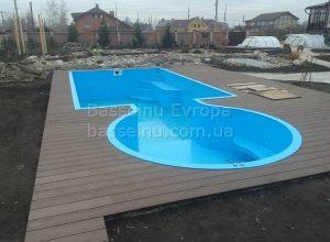 Купити басейн пластиковий будь-якої форми приклад 7 - 1