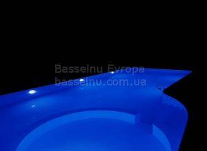 Купити басейн пластиковий будь-якої форми приклад 1 - 6