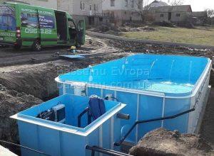 Купити басейн пластиковий стандарт приклад 4 - 6