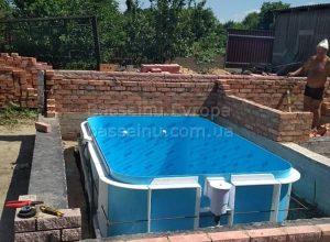 Купити басейн пластиковий стандарт приклад 7 - 1