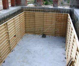 Строительство бассейна из бетона под ключ в Киеве фото № 3.
