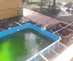 Строительство, установка, монтаж бассейнаполипропиленового фотография № 10.