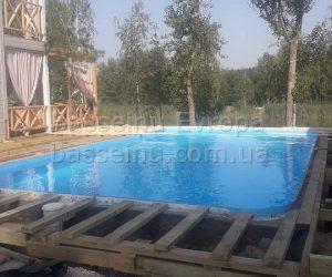 Строительство, установка, монтаж бассейнаполипропиленового фотография № 11.